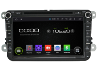 Штатное головное устройство на базе ANDROID 4.4.4 INCAR AHR-8684-S для Skoda Fabia (2007-2014) Octavia (2004-2013), Roomster (2010-2015), Superb (2008-2015), Seat Altea (2009-2013)